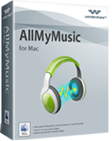 AllMyMusic for Mac, Mac Audio Recorder - box