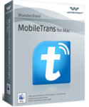 MobileTrans for Mac, phone data transfer for Mac - box