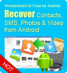 Dr.fone for Android - Recycle bin on Samsung Galaxy, find a recycle bin on Samsung Galaxy