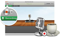 Audio Recorder for Mac, Mac Audio Recorder - Automatically recording