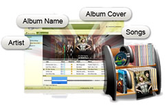 Audio Recorder for Mac, Mac Audio Recorder - Get Music Info