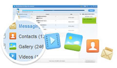Android Data Recovery, Android Phone Data Recovery - support video/photo/sms/contacts