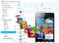 Android OS Phone file manager, manage android phone from PC - Organize apps