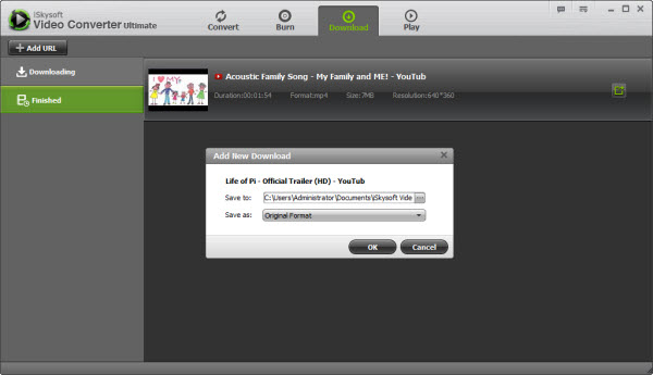 Video File Converter, Video Converter - Downloading