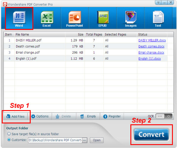 WatFile.com Download Free How to convert PDF to Word, even the scanned PDF files to Word?