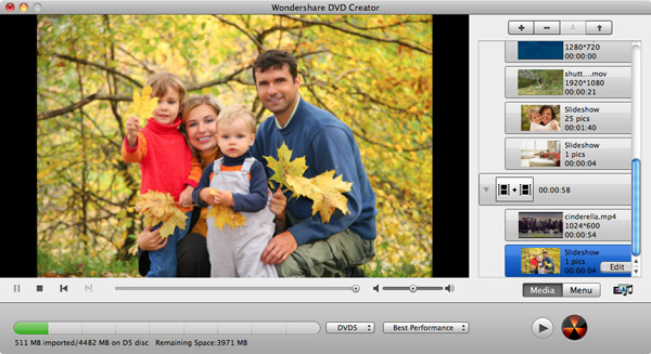 how to make a dvd menu on imovie