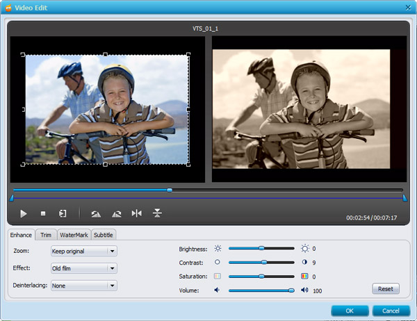 MKV to DVD converter, MKV to DVD Mac, burn MKV to DVD Mac - editing