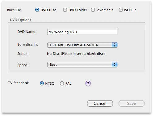 How to convert and burn Divx to DVD on Mac OS X?