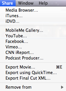 Burn iMovie 11 Video to DVD