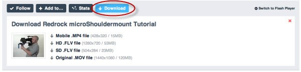 Vimeo Video Downloader for Mac