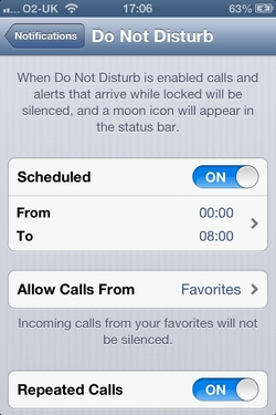 IOS 7 news, IOS 7 Rumours, Apple IOS 7, IOS 7 iPhone, IOS 7 Rumours - don't disturb