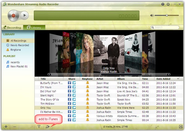 Burn Spotify to CD - add to iTunes