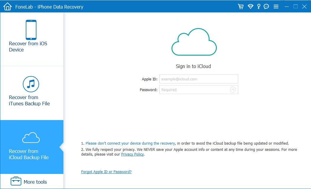 Recover stolen iPhone data from iCloud Backup