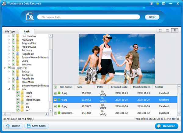 Canon EOS Picture Recovery, Recover deleted pictures from Canon EOS - Preview & Recover