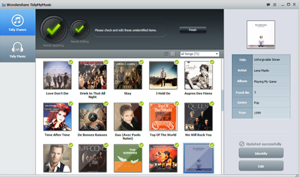 how to put mp3 files into new itunes library mac