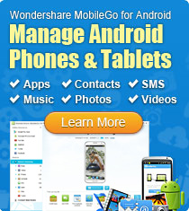 MobileGo for Android - transfer iTunes music to android